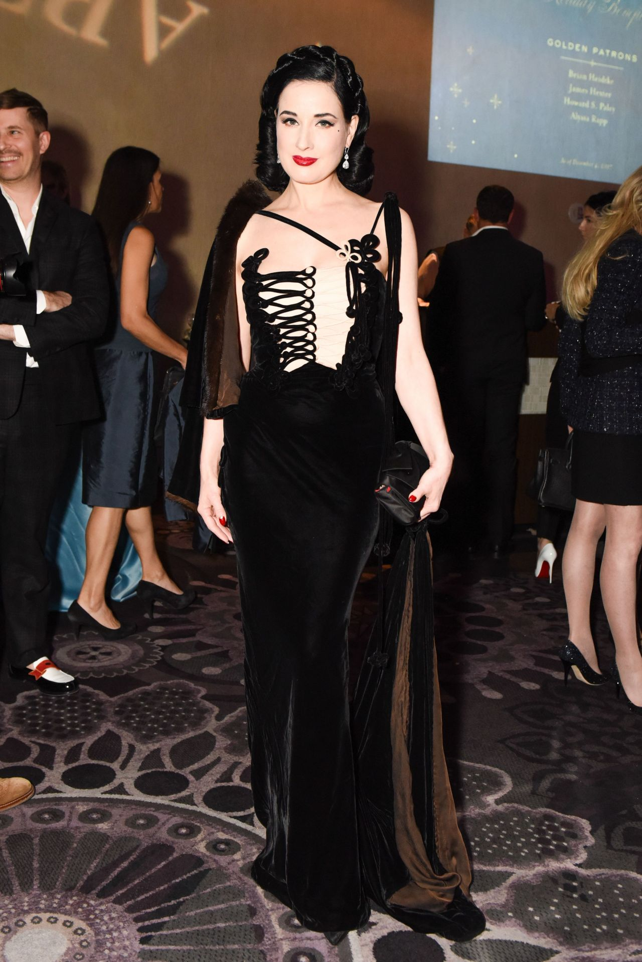 f771513261d5 Dita Von Teese - American Ballet Theatre Holiday Benefit Gala in Los Angeles