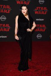 """Dita Von Teese – """"Star Wars: The Last Jedi"""" Premiere in LA"""