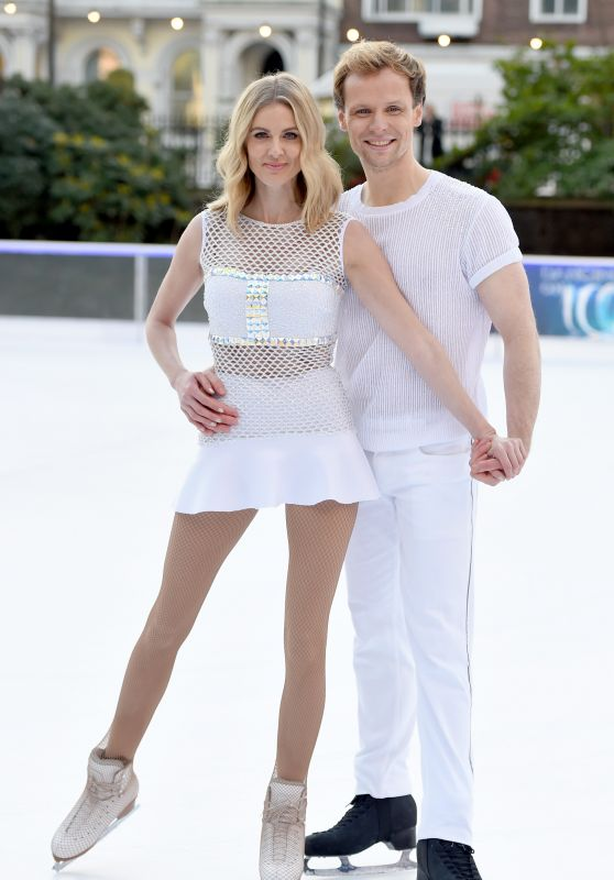 Donna Air – Dancing On Ice Photocall in London 12/19/2017
