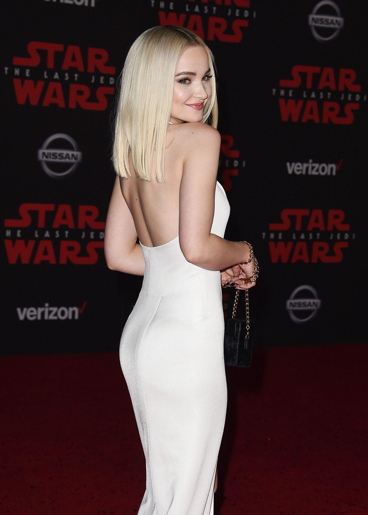 Dove Cameron Star Wars The Last Jedi Premiere In La