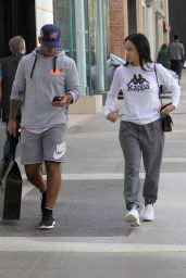 Draya Michele - Christmas Shopping Together in Beverly Hills 12/19/2017