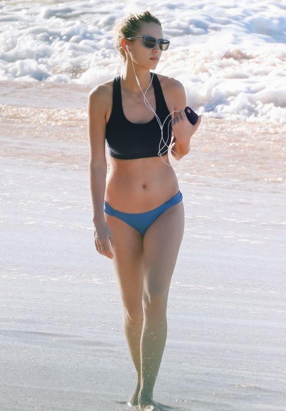 Dylan Penn in Bikini - Beach in Hawaii