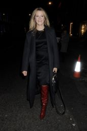 Edith Bowman - Leaving the Stella McCartney store Christmas Lights Switching On Ceremony in London