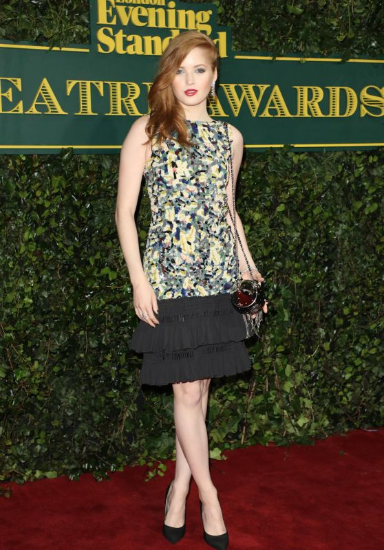Ellie Bamber – London Evening Standard Theatre Awards 2017 in London