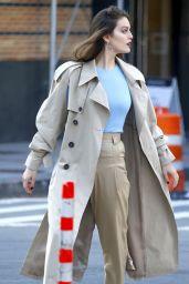 Emily DiDonato - Photoshoot in Tribeca, NYC 12/11/2017