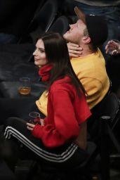 Emily Ratajkowski - Oklahoma City Thunder vs NY Knicks Game in New York 12/16/2017