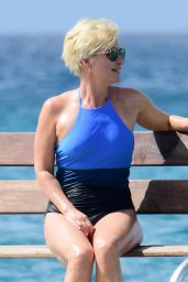 Emma Forbes in Swimsuit - Caribbean Christmas Holiday