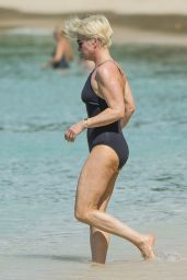 Emma Forbes in Swimsuit in Barbados 12/22/2017