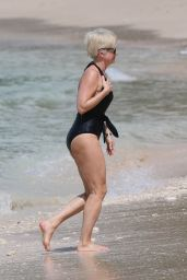 Emma Forbes in Swimsuit - Sandy Lane Hotel in Barbados 12/28/2017