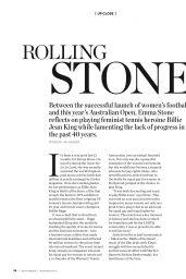 Emma Stone - Muse Magazine January 2018