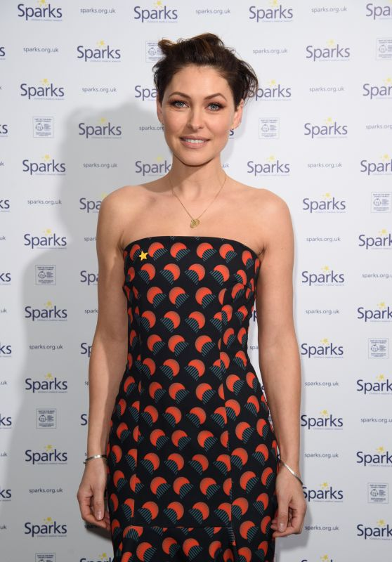 Emma Willis – Sparks Winter Ball in London