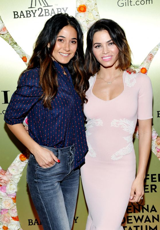 Emmanuelle Chriqui and Jenna Dewan - Gilt.com Exclusive Jewelry Collection Launch in West Hollywood