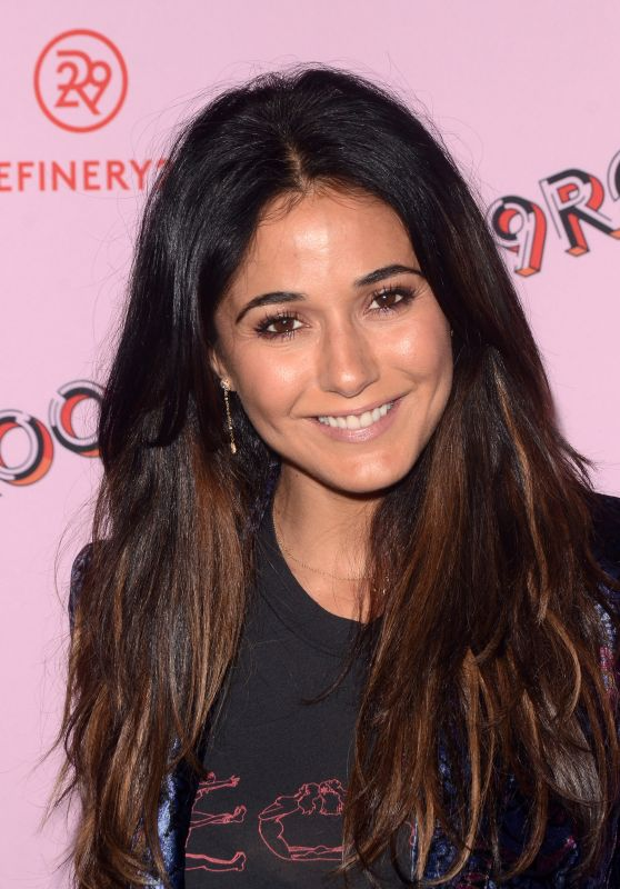 "Emmanuelle Chriqui -""Refinery 29: Turn it into Art"" Opening Night in Los Angeles"