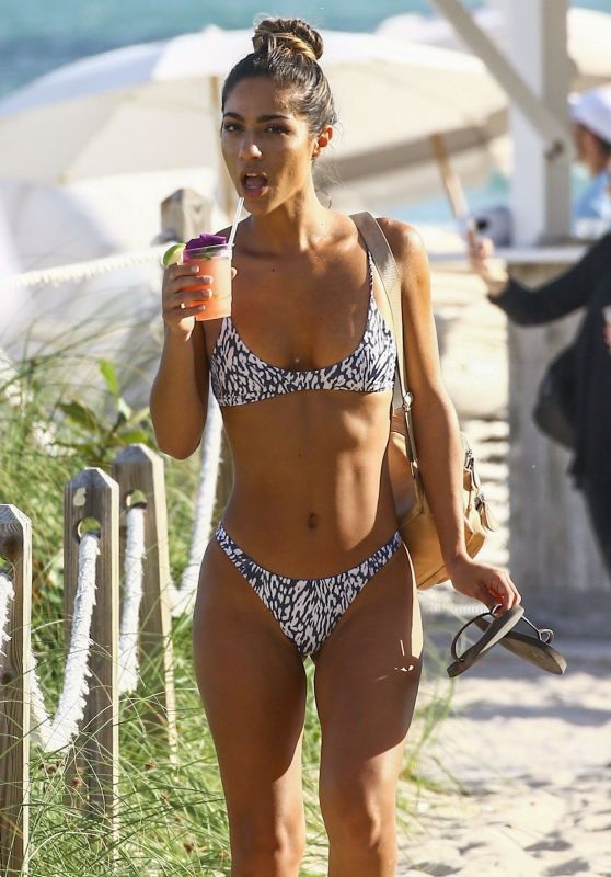 Erika Wheaton Hot in Bikini in Miami Beach 12/05/2017