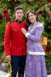 "Erin Krakow - ""When Calls the Heart: The Christmas Wishing Tree"" Movie Photos"