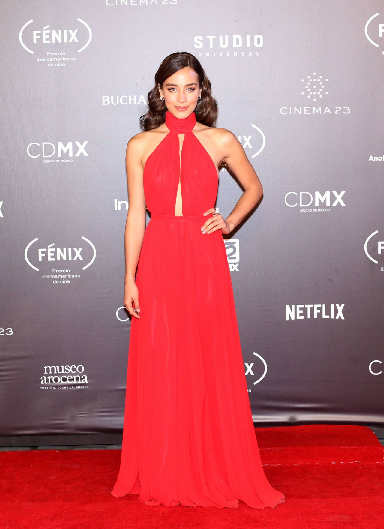 Esmeralda Pimentel – Fenix Film Awards 2017 in Mexico City