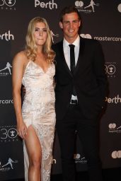 Eugenie Bouchard at Hopman Cup New Years Eve Players Ball in Perth