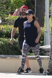 Eva Longoria and Her Husband Jose Baston on Christmas Day in Miami Beach