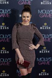 """Eva Marciel – """"Molly's Game"""" Premiere in Madrid"""
