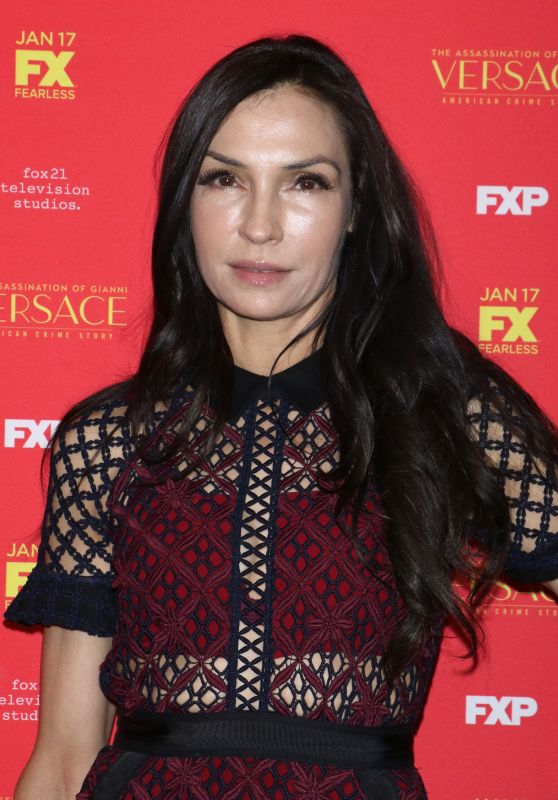"Famke Janssen – ""The Assassination of Gianni Versace American Crime Story"" TV Show Premiere in New York"