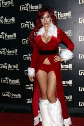 Farrah Abraham – Farrah Abraham As Se*y Santa Host Crazy Horse III Neon Flow Holiday Party