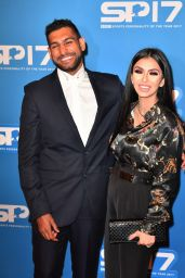 Faryal Makhdoom and Amir Khan – Sports Personality Of The Year Awards in Liverpool