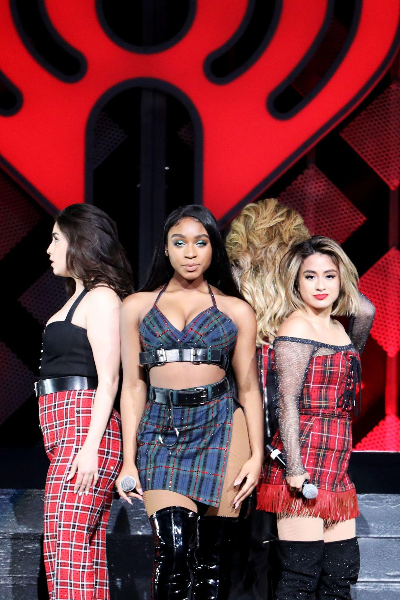 Fifth Harmony Kiss 108 S Jingle Ball 2017 In Boston