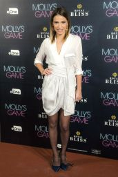"""Flora Gonzalez – """"Molly's Game"""" Premiere in Madrid"""