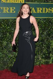Florence Pugh – London Evening Standard Theatre Awards 2017 in London