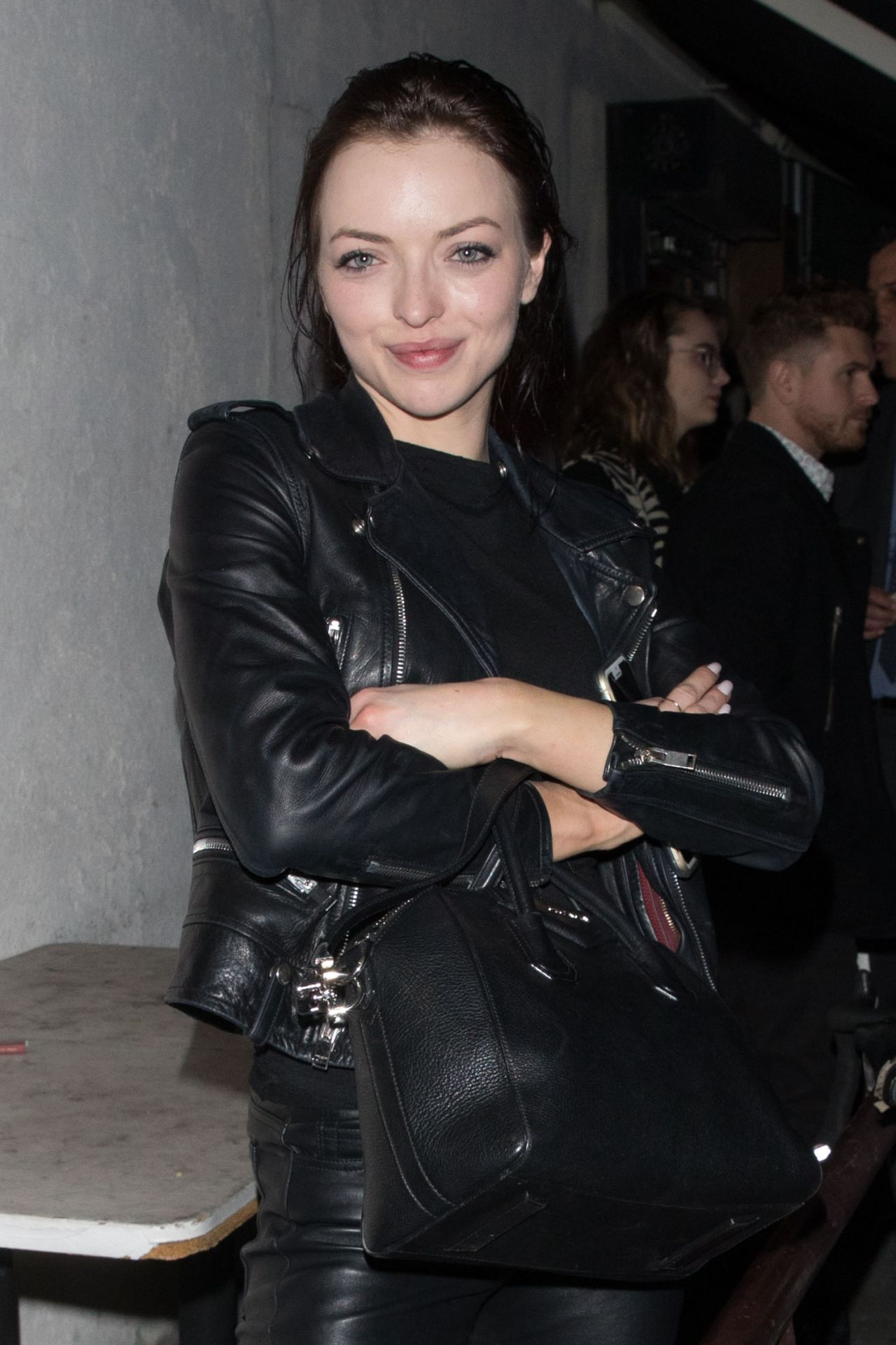 Francesca Eastwood Night Out - Leaving Craig