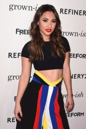 "Francia Raisa - ""Grown-ish"" Sitcom Premiere in Los Angeles"
