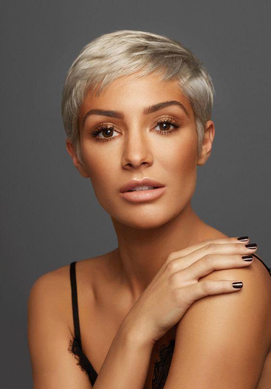 "Frankie Bridge - ASDA ""Make-Up"" Photoshoot 2017"