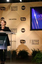 Gabrielle Carteris – Screen Actors Guild Awards 2017 Nominations in Los Angeles