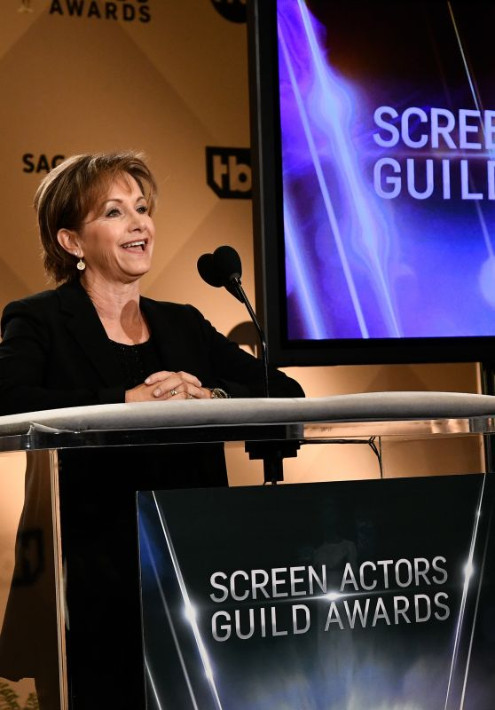 Gabrielle Carteris – Screen Actors Guild Awards 2017 Nominations in Los Angeles