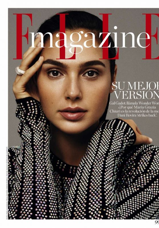Gal Gadot - Elle Magazine Spain January 2018