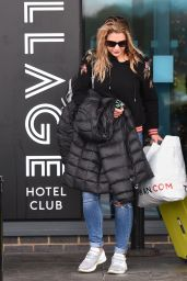 Gemma Atkinson - Leaves the Village Hotel Club in Watford