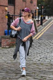Gemma Atkinson - Leaving Key 103 Radio Station in Manchester