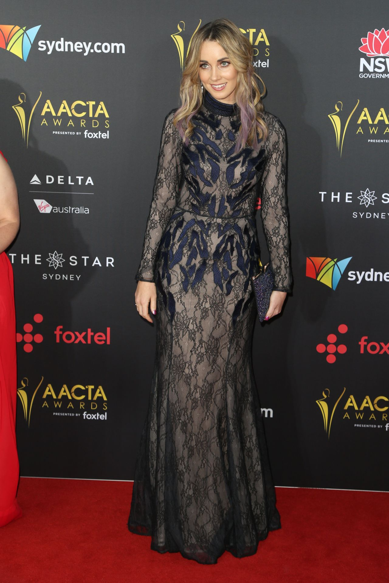 Genna Chanelle Hayes – AACTA Awards 2017 Red Carpet