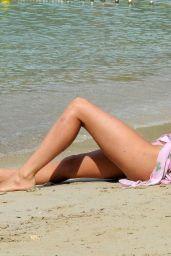 Georgia Harrison in Bikini on the beach in Tenerife Pic 13 of 35