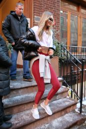 Gigi Hadid - Leaves a Reebok Christmas Party in NYC