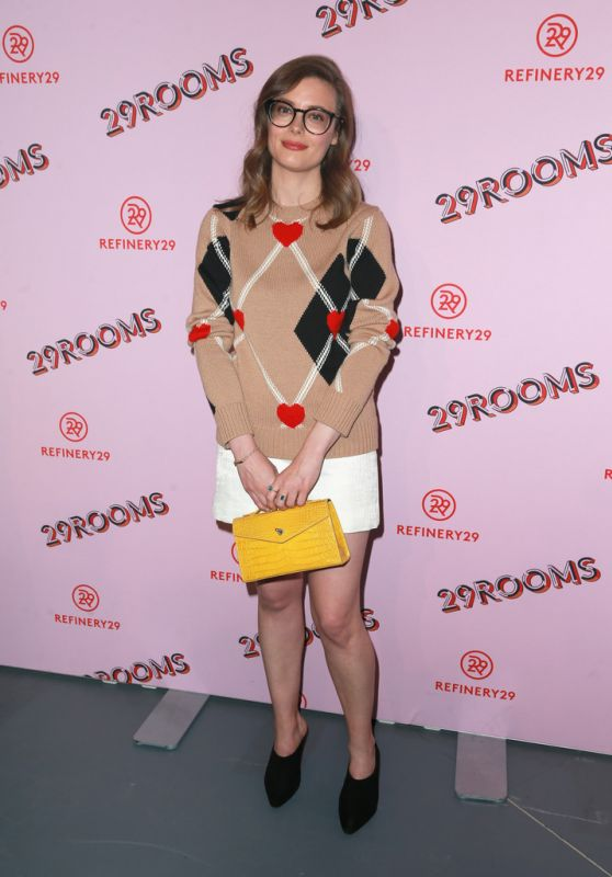 "Gillian Jacobs -""Refinery 29: Turn it into Art"" Opening Night in Los Angeles"