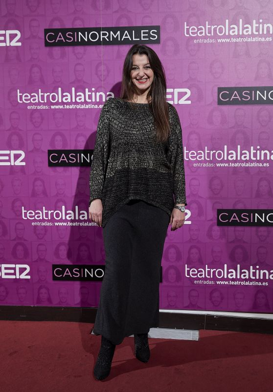 "Goizalde Nunez – ""Casi Normales"" Play Opening Night in Madrid"
