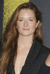 """Grace Gummer – """"Pitch Perfect 3"""" Premiere in Los Angeles"""