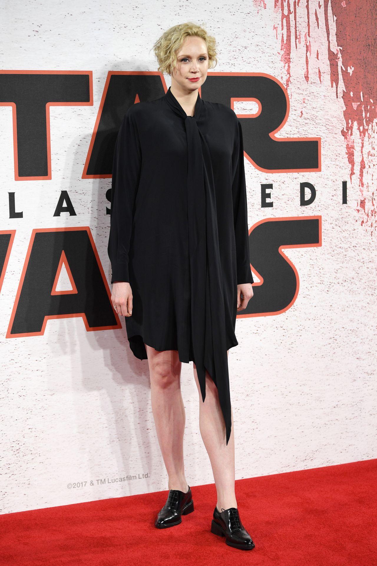 Gwendoline Christie Star Wars The Last Jedi Film