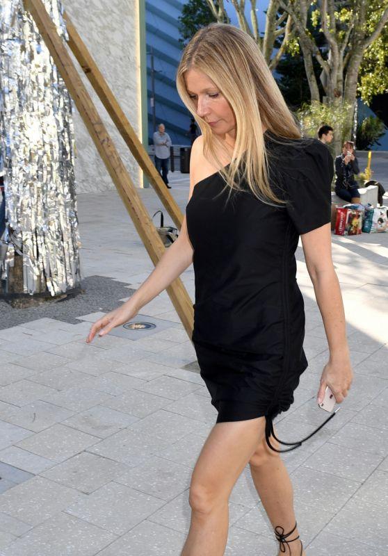 Gwyneth Paltrow Style - Goop Event in Miami 12/15/2017