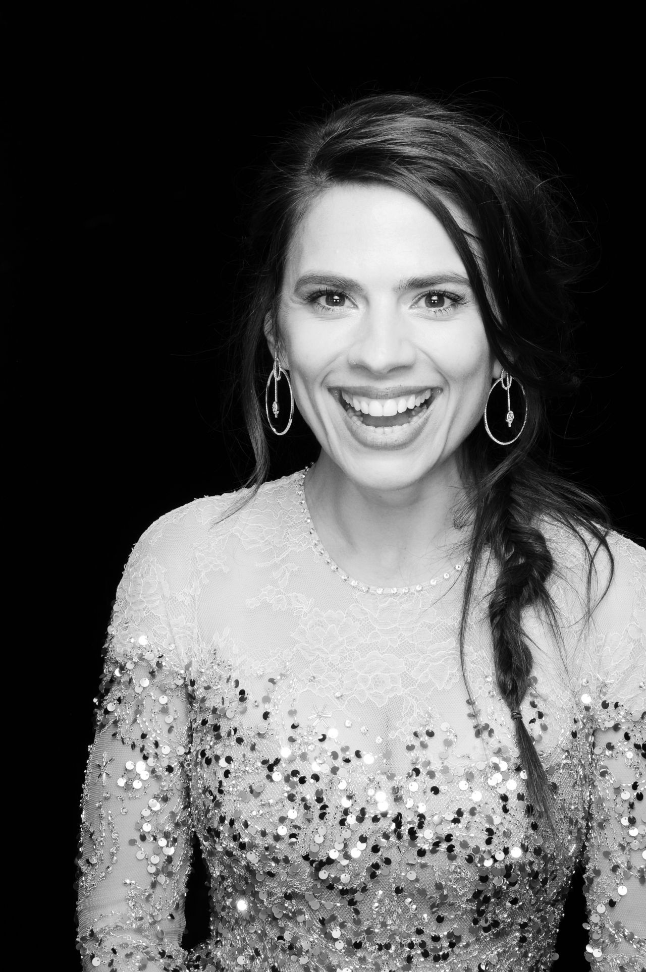 Hayley Atwell British Independent Film Awards Photo Booth