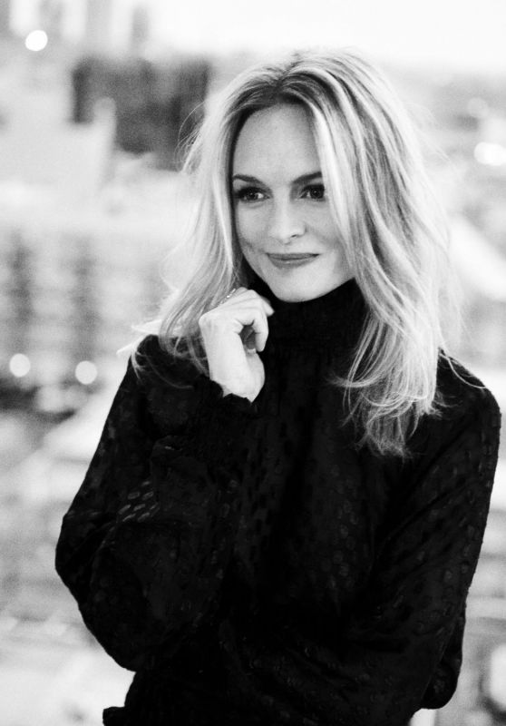 Heather Graham - Photoshoot for LEFAIR Magazine Winter 2017