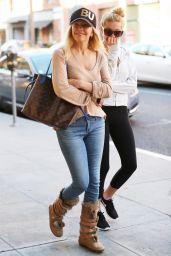 Heather Locklear and Ava Sambora Heading to Breakfast in Beverly Hills