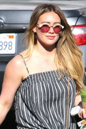 Hilary Duff in Casual Outfit Out and About in Bverly Hills
