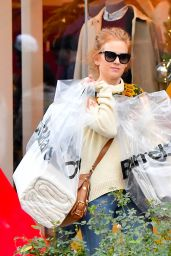 Isla Fisher Shopping at the Grove in LA